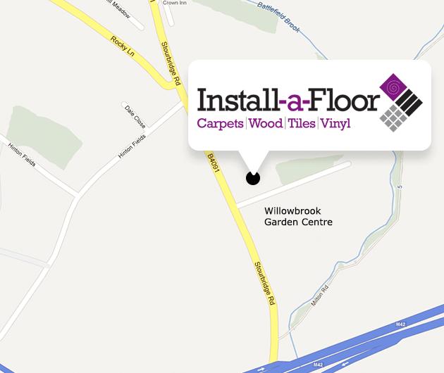 Install-A-Floor Map Bromsgrove